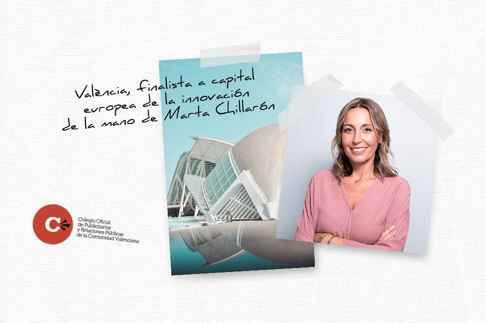 València, finalista a capital Europea de la innovación de la mano de Marta Chillarón