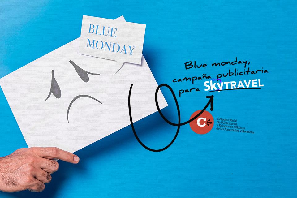 """Interesante campaña de Sky Travel para el """"Blue Monday"""""""