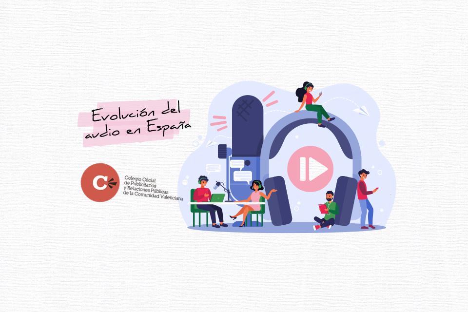 Evolución del audio en España